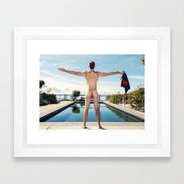 Freedom In Summer Framed Art Print