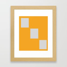 test save draft - nothing else Framed Art Print