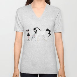 Dreamer and her Companions Unisex V-Neck