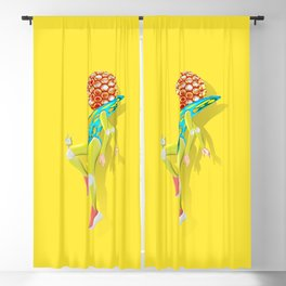 Woman Power Style 2 Blackout Curtain
