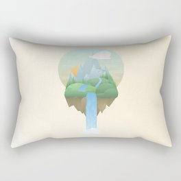 Our Island in the Sky Rectangular Pillow