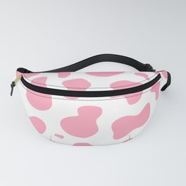 Cute Pastel Pink Cow Pattern Fanny Pack