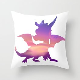 Spyro Lofty Castle Skybox Throw Pillow