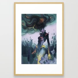 Crumbling Framed Art Print