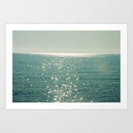 Pure magic of the sea Art Print