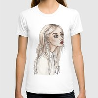 creepy T-shirts featuring Creepy Chan by Helen Green