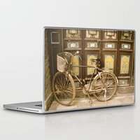 bicycle Laptop & iPad Skins featuring Bicycle by Gurevich Fine Art