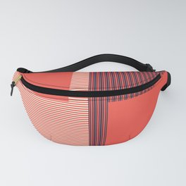 Figaro in Red Fanny Pack