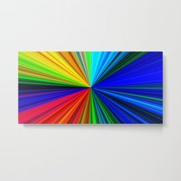 Colours of a Rainbow Metal Print