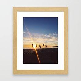 Summer Nights 2 Framed Art Print