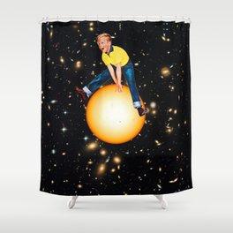 Star Hopper 2 Shower Curtain