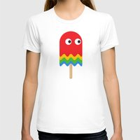 pacman T-shirts featuring Pacman ghost by Tony Vazquez