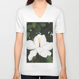 Magnolia I Unisex V-Neck