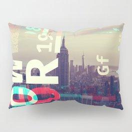 GLITCH CITY #80: New York Pillow Sham