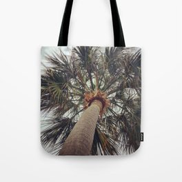 Palm Tree Before The Storm Tote Bag