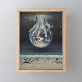 The Hand That Feeds Framed Mini Art Print