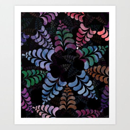 pattern 8 Art Print