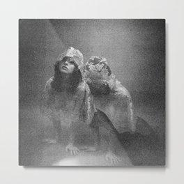 Holga Double Exposure - Oh Thumbelina Metal Print