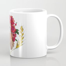 Owl with Rose Halo Coffee Mug