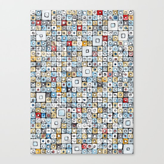Grid#01 Canvas Print