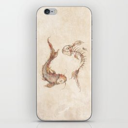 Yin Yang Fish iPhone Skin
