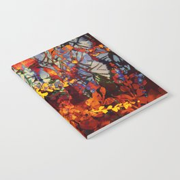 pluie d'automne/fall's rain Notebook