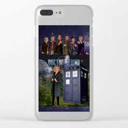 7 Doctors Clear iPhone Case