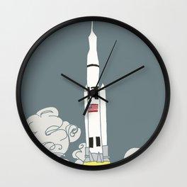 Rocket power! Wall Clock