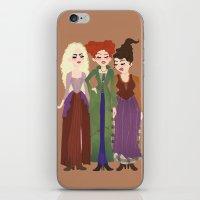 hocus pocus iPhone & iPod Skins featuring Hocus Pocus Illustration by Shop Sarah Alyson