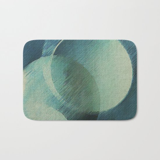 The Phases of the Blue Moons Bath Mat