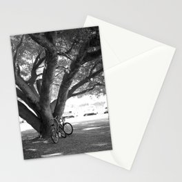 Bike and Tree Stationery Cards