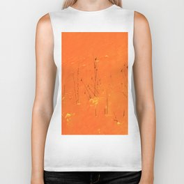 Winter Grasses Biker Tank