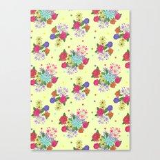Flowers [yellow] Canvas Print