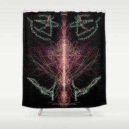 Trip Across the Galaxy Shower Curtain