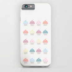 Cupcakes pattern iPhone 6s Slim Case