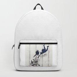 Banksy, Shop Until You Drop Backpack