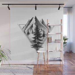 NORTHERN MOUNTAINS II Wall Mural