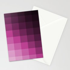 Pixel Gradient Stationery Cards