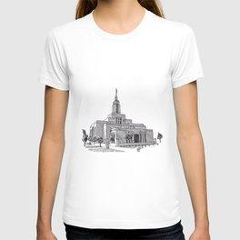 Draper Utah LDS Temple T-shirt