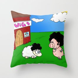 Impostor! Throw Pillow