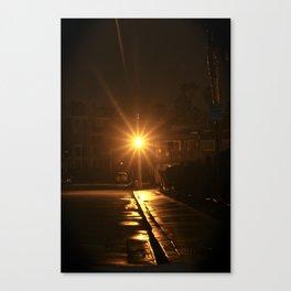 Light at Night Canvas Print