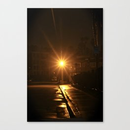 Light at Night Canvas Print
