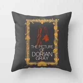 BOOKS COLLECTION: Dorian Gray Throw Pillow
