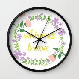 *whispers* BRAVE (light) Wall Clock