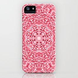 """Magnolia ~ Amaranth Red"" - (Original Digital Artwork by Vincent Ferraro) iPhone Case"