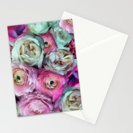 Romantic flowers I Stationery Cards
