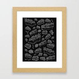 Black Amethyst Framed Art Print