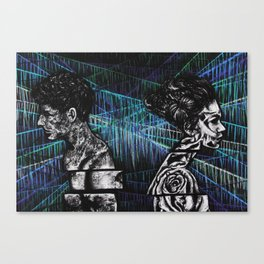 Disconnect Canvas Print