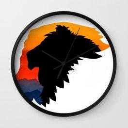 Griffon Rider Wall Clock