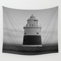 lighthouse Wall Tapestries featuring Lighthouse by Simon Ede Photography